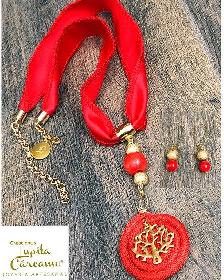 Conjunto Red  tree ( 2 piezas)