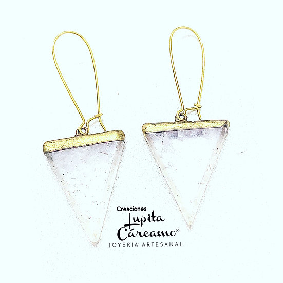 Aretes triangle de quartz