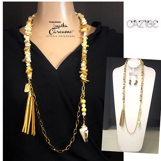 Collar  Mar Amore( 2 piezas)