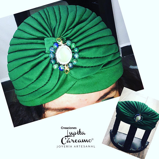Turbante Yesil