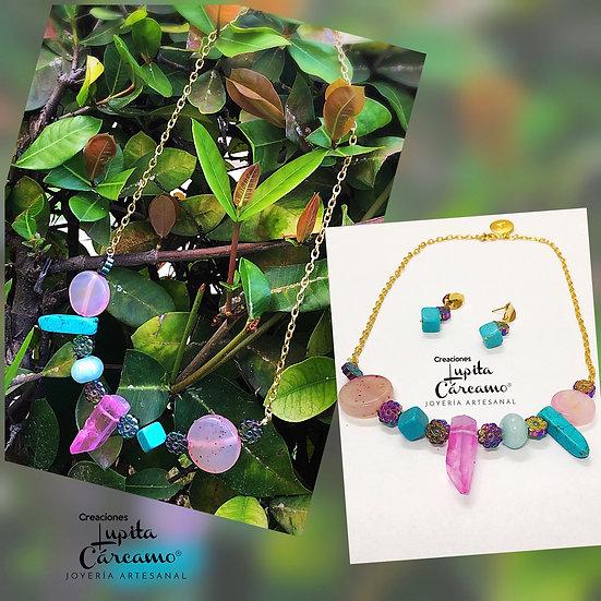 Collar Encanto Sofia  ( 2 piezas)