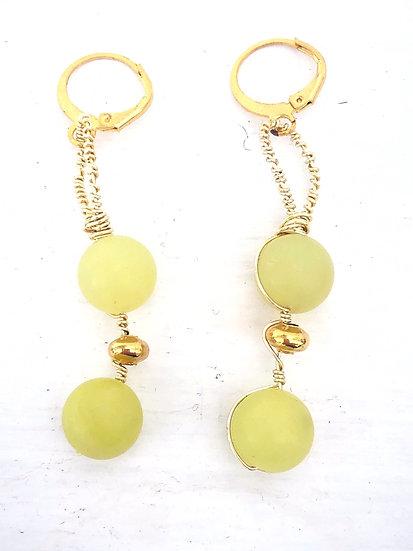 Aretes Jade