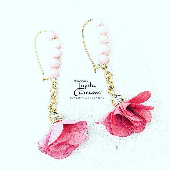 Aretes Jadey flor