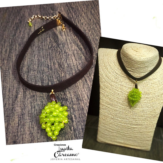 Choker  Green Grapes