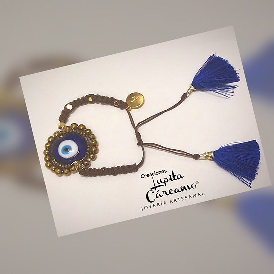 Pulso ojo turco azul