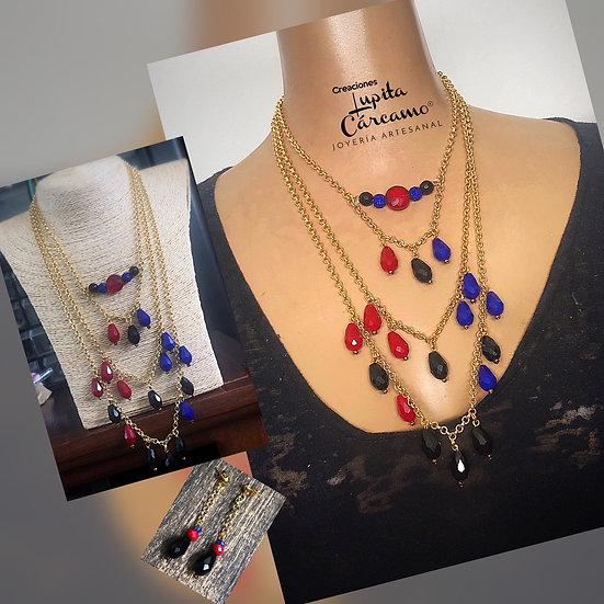 Collar Cleide ( 2 piezas)