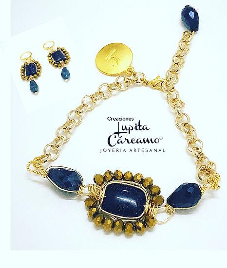Conjunto Eccezionale Venturina Azul