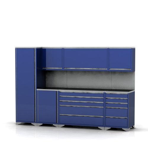Garage furniture pre designed assembly package 5