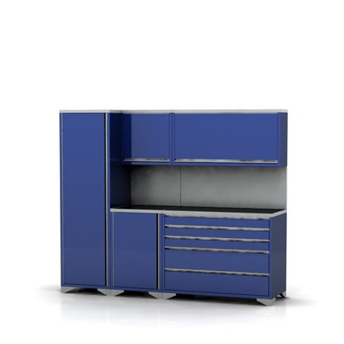Garage furniture pre designed assembly package 4