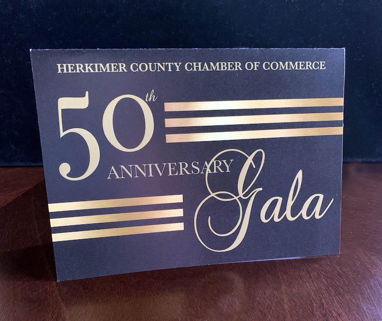 50th Anniversary Gala Invitation