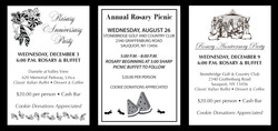 Rosary Group Dinner Tickets