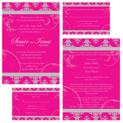 Pink & Silver Set