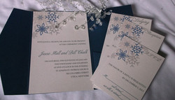 Winter Snowflakes Pocket Set