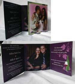 Tri-fold invitation