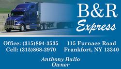B&R Express Business Card