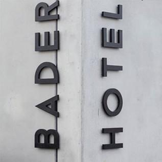 BaderHotel Fassade