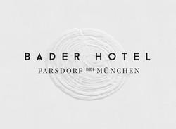Embossed Logo Bader Hotel