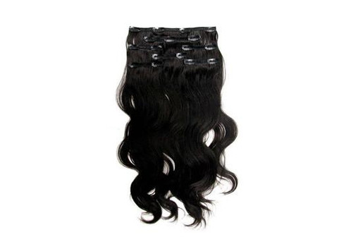 Indian virgin human hair clip in hair extensions kutique hair 9 10 piece set easy to use and beautiful to enjoy clip hair extension this adds volume and length to your hair with out the salon prices pmusecretfo Image collections