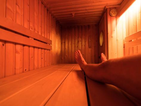 Bei Ole ist immer Sauna