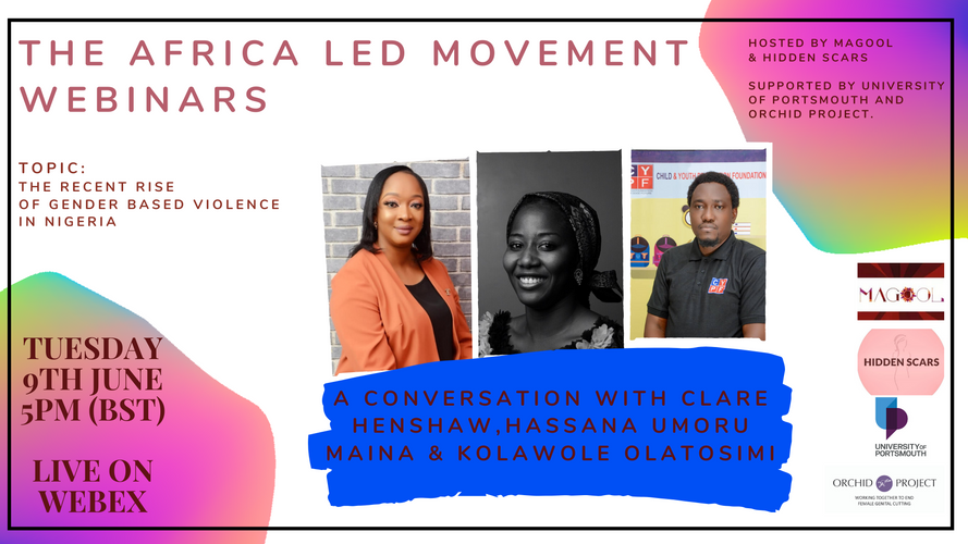 Africa Led Movement Webinar: The recent rise of GBV in Nigeria