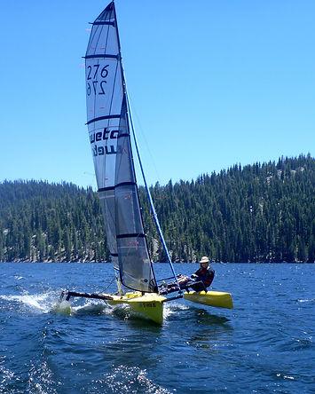 High Wind - Flat Water