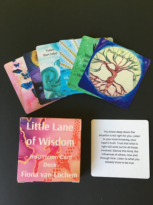 Little Lane of Wisdom - Inspiration Cards