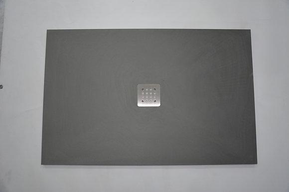 Piatto Doccia in Pietra Grigia 120x80x3cm