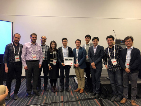 Best poster paper at the IEEE International Conference on Robotics and Automation (ICRA) 2019