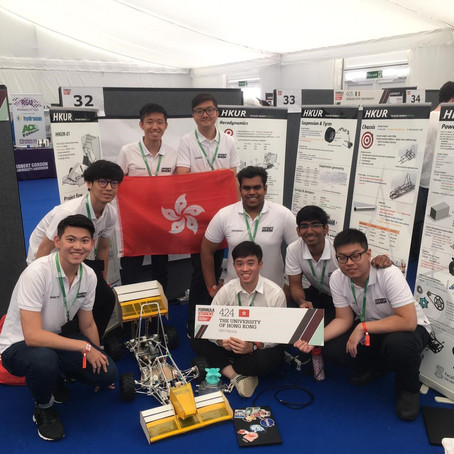 Third place in the Formula Student UK 2019 Class 2 Competition