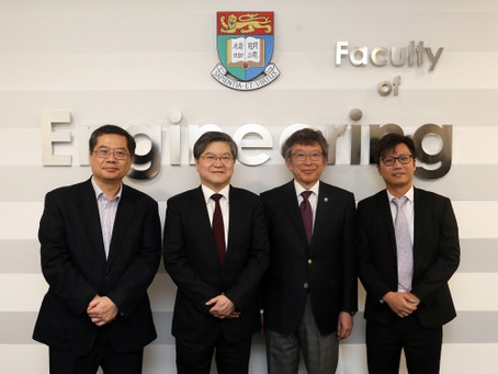 HKU & Tohoku Univ. sign agreement on collaboration in transformative AI and robotics technologies