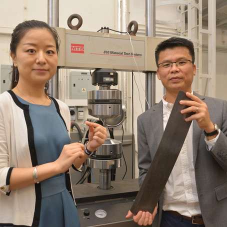 HKU ME research breakthrough: a Super Steel that's super strong and super tough