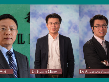 Three projects were awarded research impact fund 2018-19