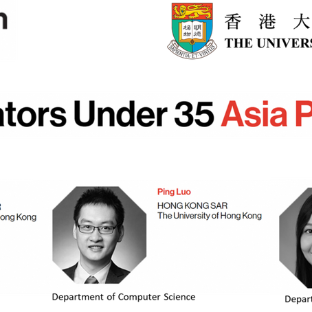 "Dr. Ziyan Guo for being selected as an ""EMTECH ASIA Innovator Under 35"""