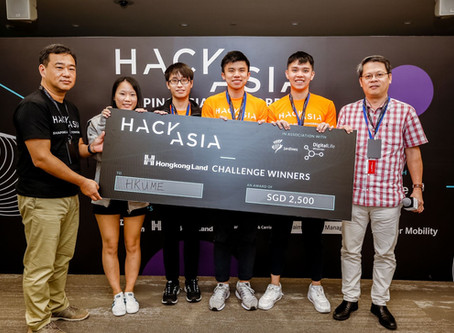 Four HKU ME students won in the Smart Cooling Challenge at HACK ASIA 2019, Singapore
