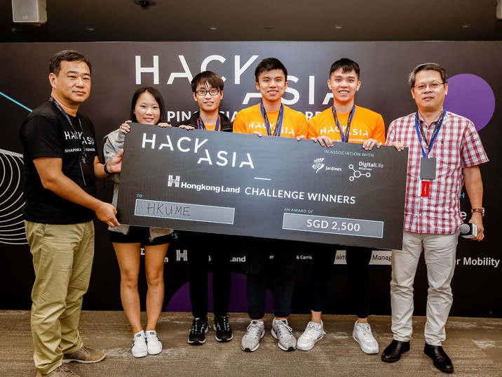 Team HKUME - Winners of Challenge Smart
