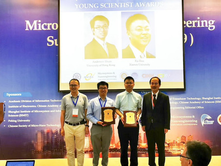 Young Scientist Award in the Microsystems and Nanoengineering Summit 2019