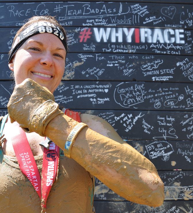 It's Time to Spartan Up for Childhood Cancer.