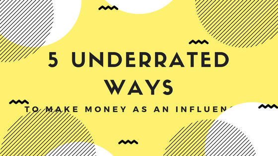 5 Underrated Ways to Make Money with Blogging!