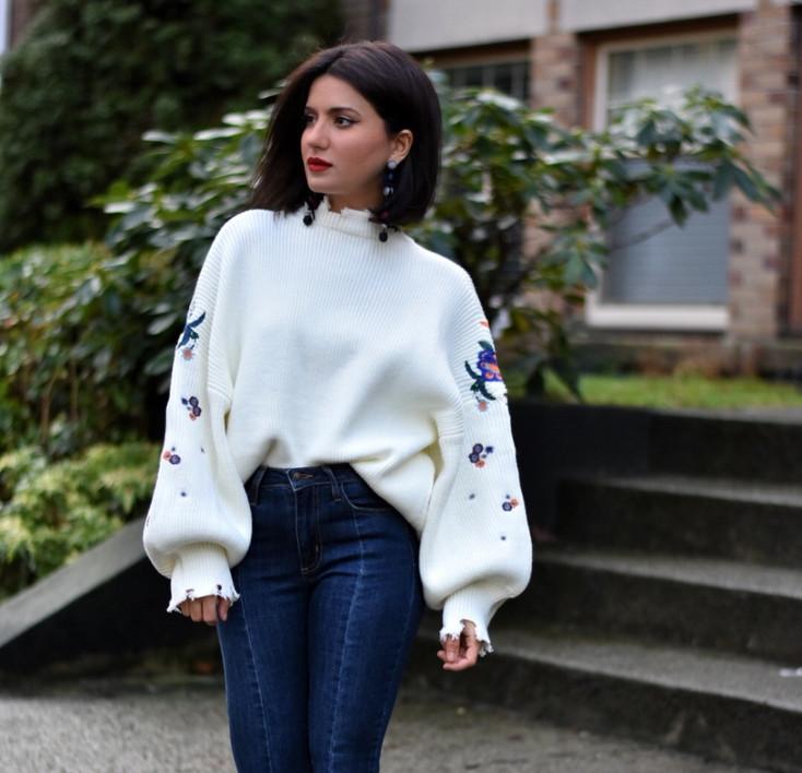 Super-Size Sweater Affair