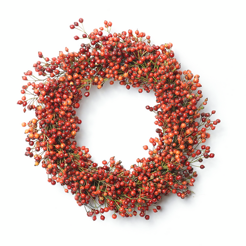 """9"""" Rosehip Candle Ring"""