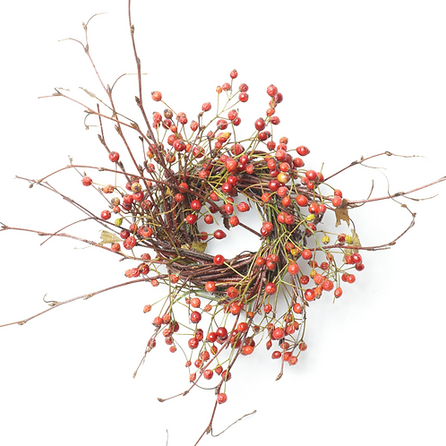 "2"" Birch/Rosehips"