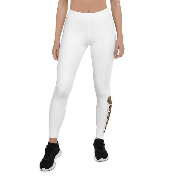 White Stich (Ounce) Leggings