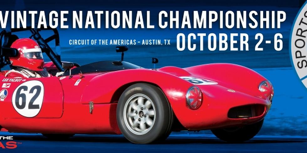 SVRA Vintage National Championship Races