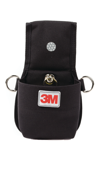 Pouch Holster with Retractor - (for Belt)