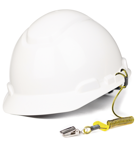 Hard Hat Coil Tether (10 Pack)