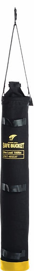 Long Safe Bucket 100 lb. Load Rated Hook and Loop Canvas