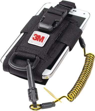 Adjustable Radio/Phone Holster with Clip2Loop Coil and Micro D-Ring