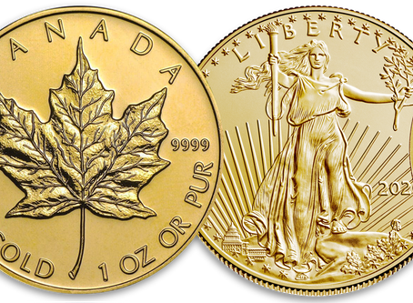 Investors' Top 4 Bullion Coins
