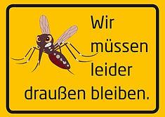 Schild Insektenschutz