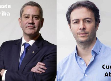 Rogério Caboclo, cuesta arriba; Daniel Quintero, cuesta abajo